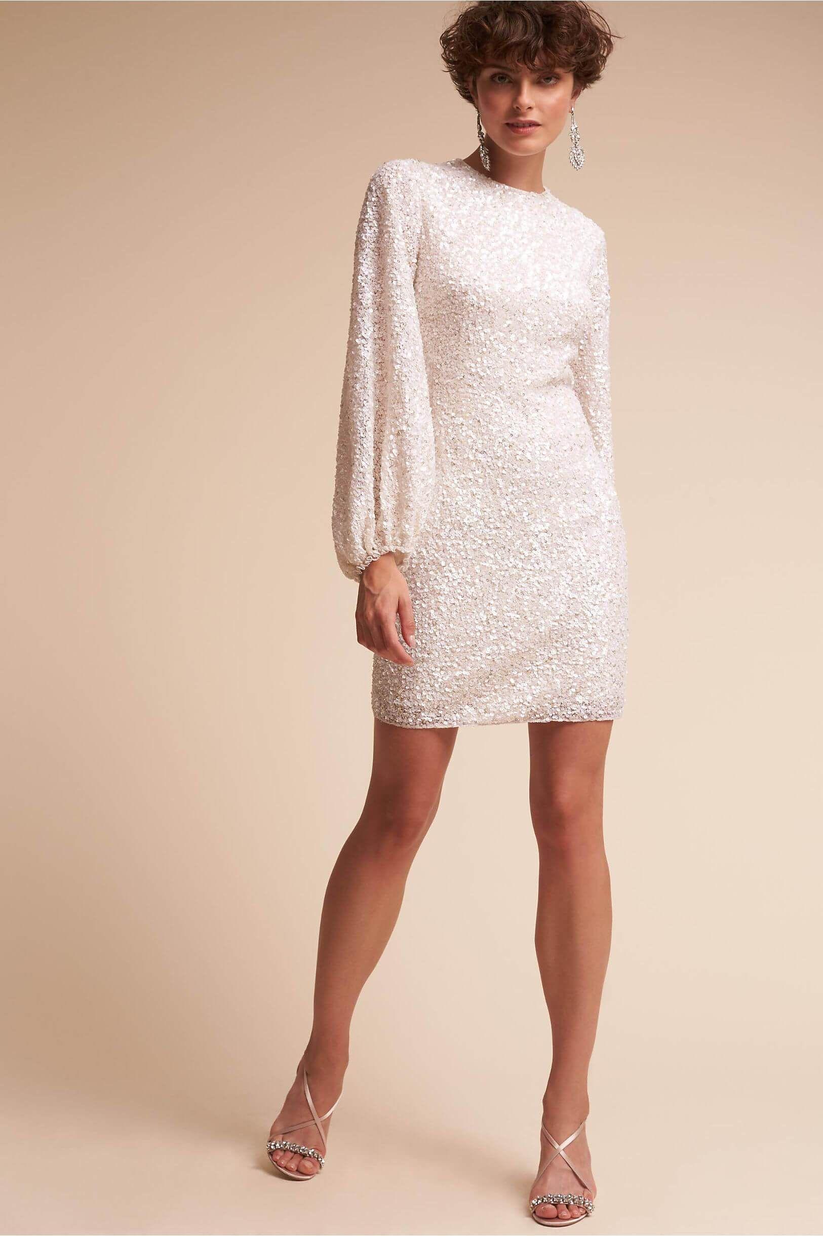 Ivory Goldie Dress Dress Of The Week 35 Knotsvilla Wedding Ideas Canada Wedding Blog Little White Dresses Short Wedding Dress White Dresses For Women