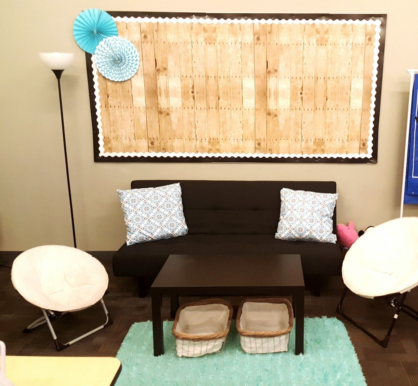 Flexible Seating Or Small Group Project Area Students