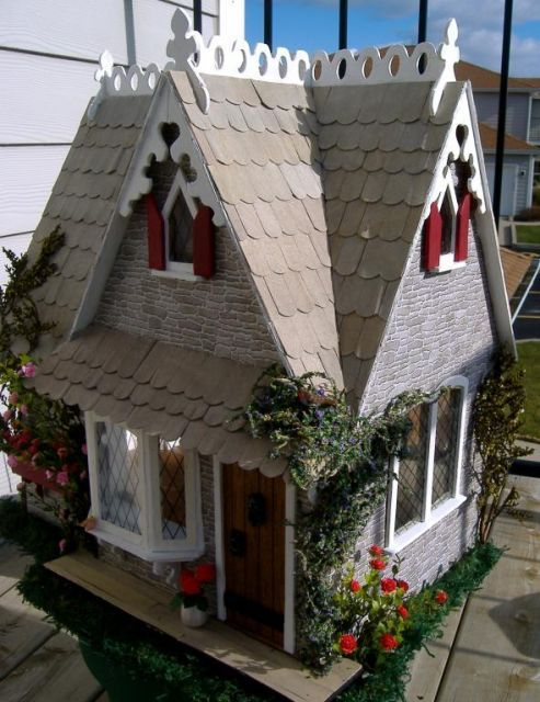 Custom Storybook Cottage - Storybook Cottage 2008 Tracy Topps - Gallery - The Greenleaf Miniature Community