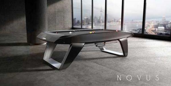 Billard Design novus, un billard design ultra sophistiqué | accessoires déco