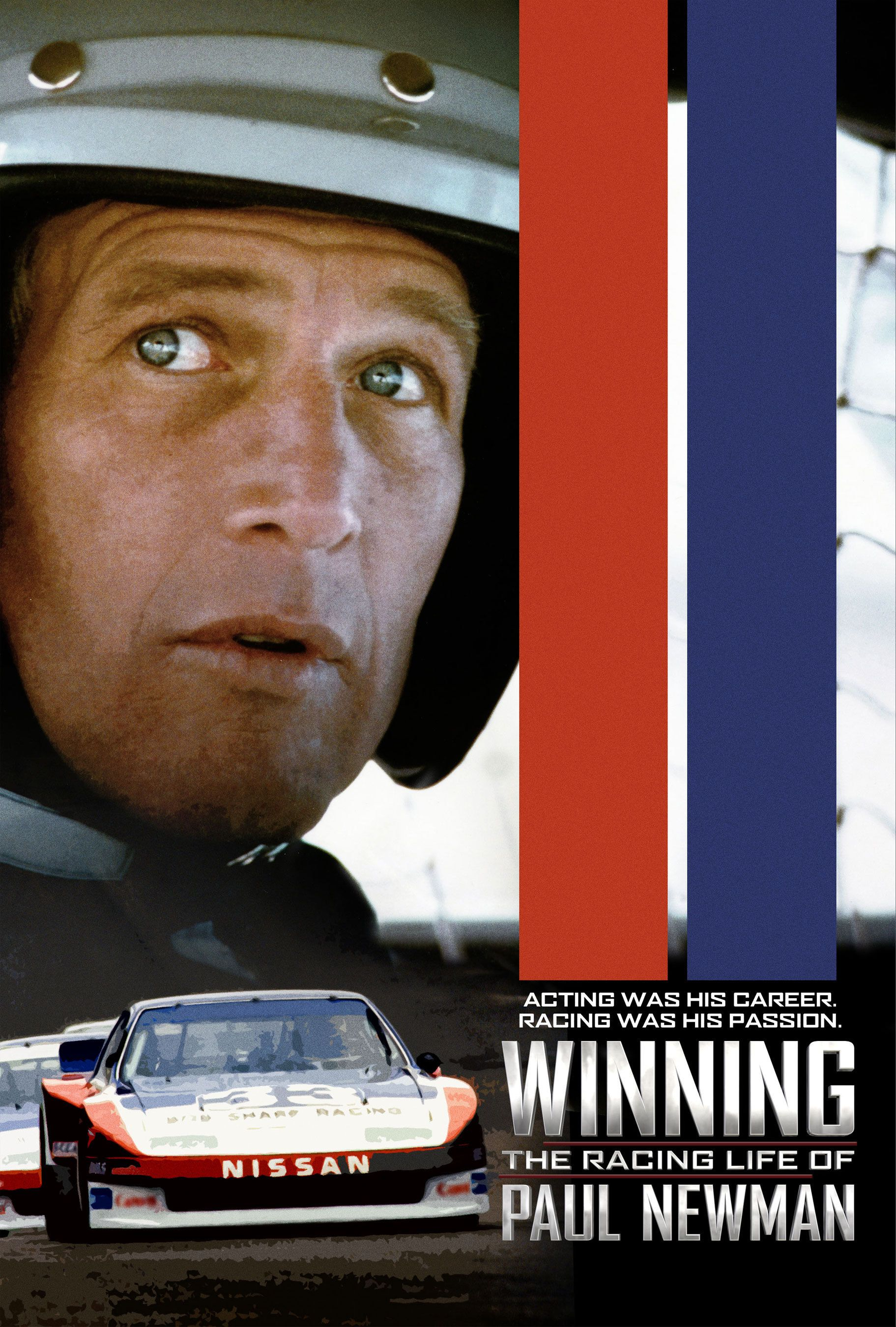 Winning, The racing Life of Paul Newman - Nissan Poster