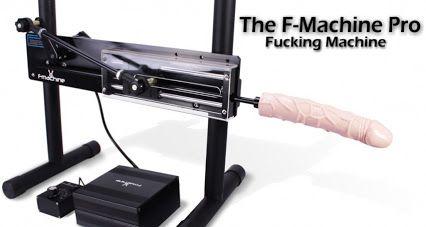 Anal fucking machine
