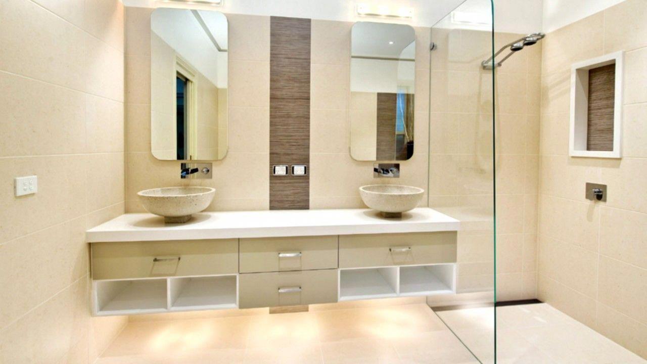 17 Modern Bathroom Design Ideas Youtube With Regard To Contemporary Bathroom Design Ideas Modern Bathroom Remodel Beige Tile Bathroom Modern Bathroom Design