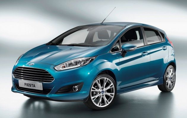 Ford Fiesta Facelift Unveiled Gets 1 0l Ecoboost Ford Fiesta Ford Fiesta St Ford