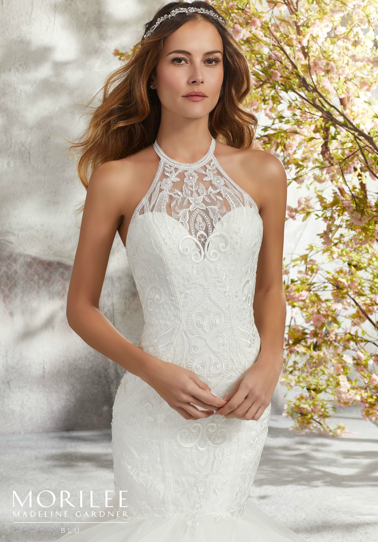 Mori lee madeline gardner wedding dress  Morilee  Madeline Gardner Laney Style   Breathtaking Tulle