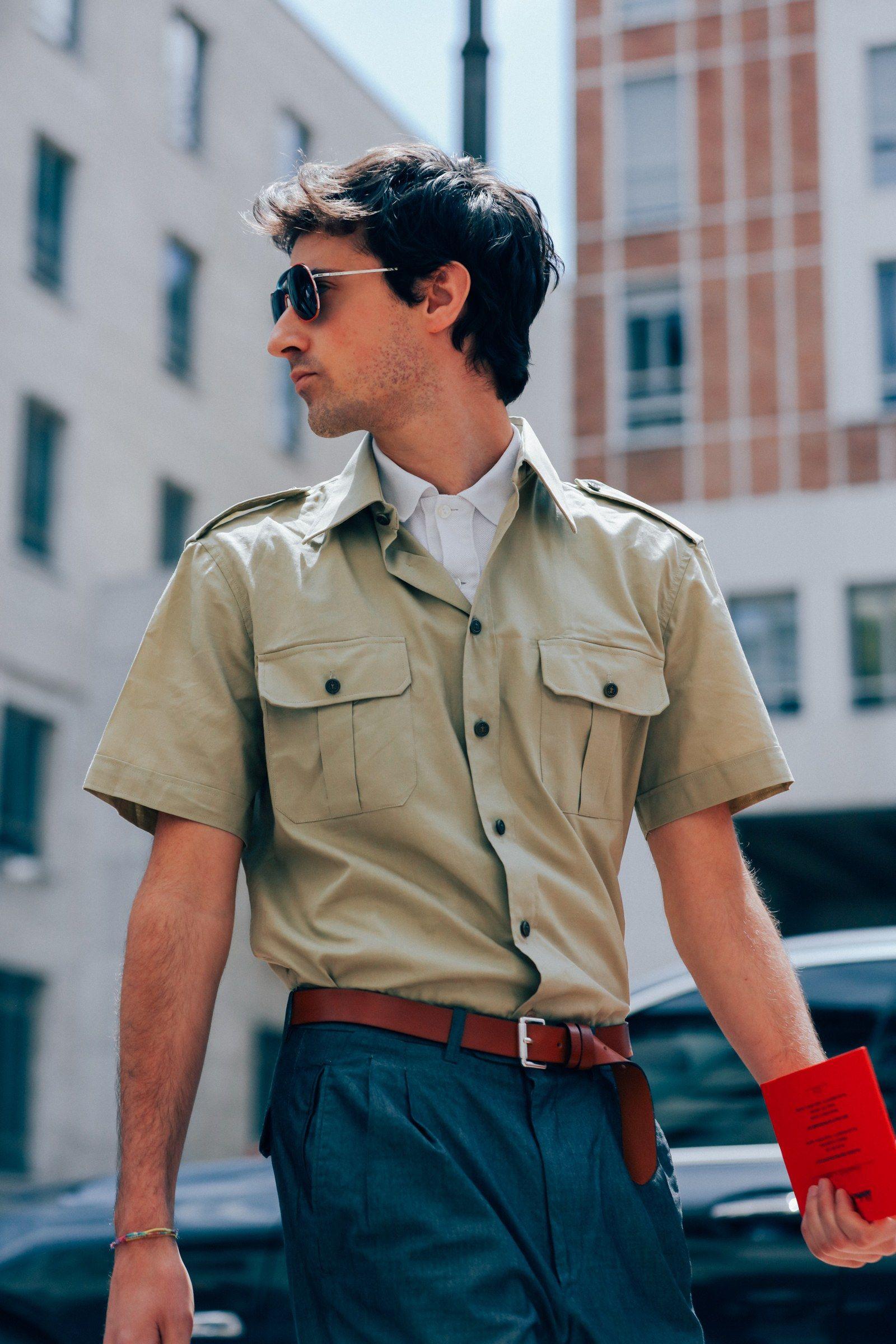 The Best Street Style from Milan Fashion Week #mensstreetstylesummer
