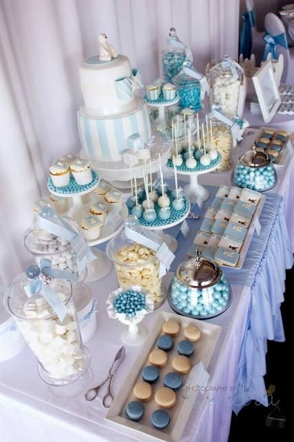 A Combined Christening And 1st Birthday By 3 S A Party Candy Buffet And Party Supplies Paperblog Shower Cakes Candy Buffet Candy Party
