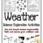 Fun and simple science experiments that will enrich your weather unit.   --------------------------------------------------------------------------...