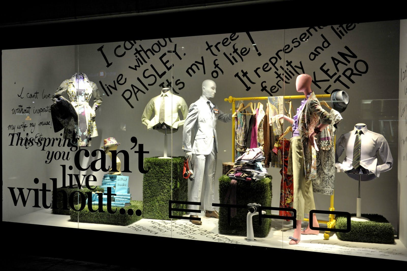 Window display ideas  pin by untriedshop on windows  pinterest  window display retail