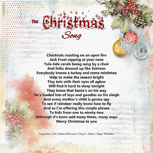 BE_Holidaze_LA_copy1 | Christmas songs lyrics, Christmas song, Songs