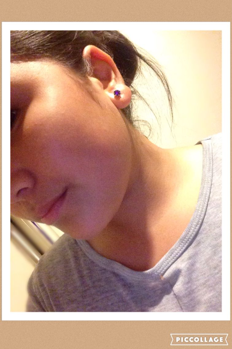 Piercing pain areas  Hey check out how I did my piercing at home pain freeyou should try