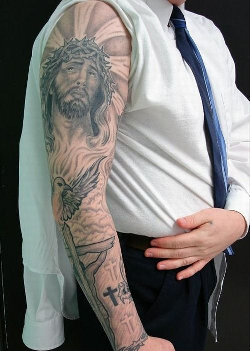Cool Arm Sleeves Tattoos Spiritual: Pin On The Ink