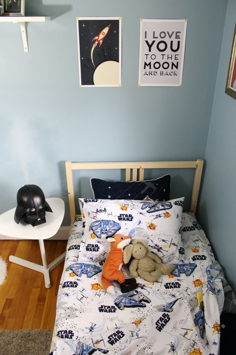Star Wars Boys Room Makeover Featuring Pottery Barn Kids