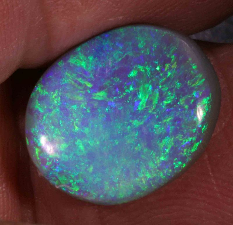 FREE SHIPPING 11.90 CTS BLACK OPAL FROM LR