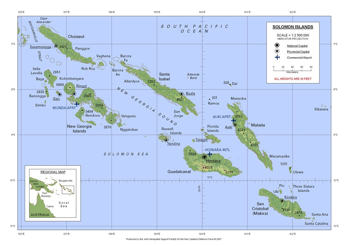 Image result for vanuatu map topographical Theatre South Pacific