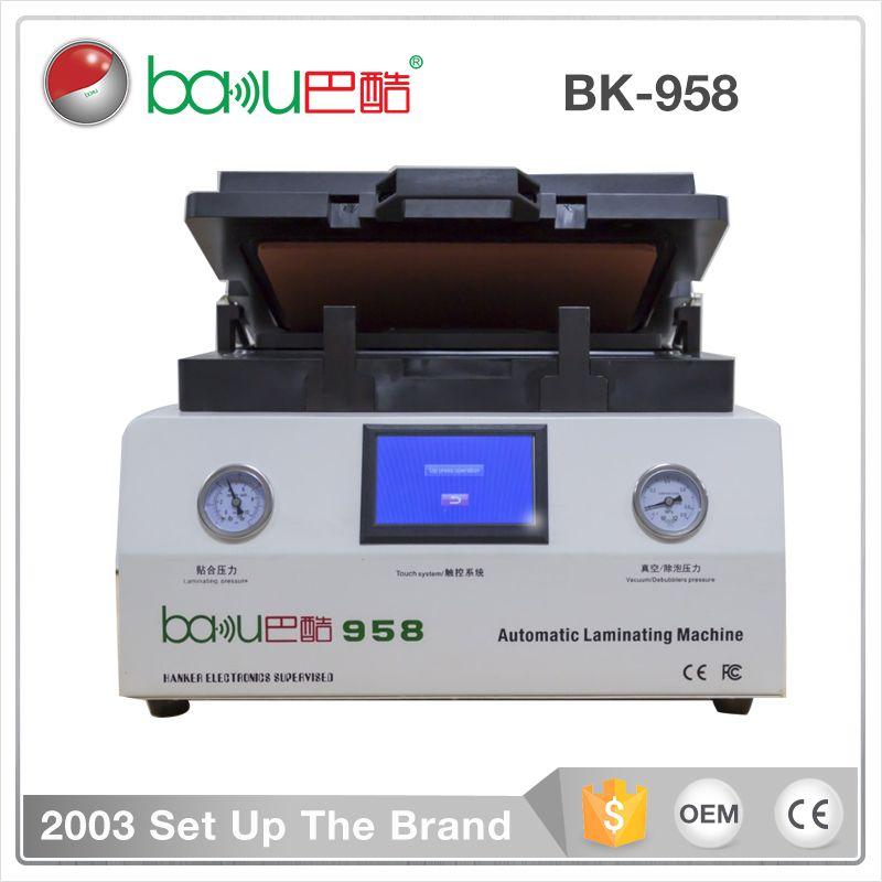 Baku Bk 958 Newest All In One Automatic Refurbishing Lcd Repair Machine Mobile Phone Screen Lamination Machine Electronic Kits Repair Mobile Phone Repair