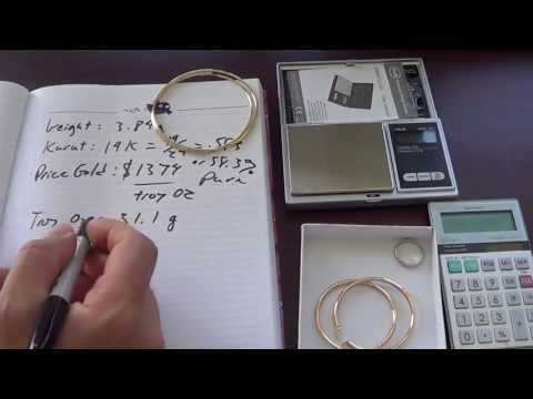 Jeweler S View How To Find The Melt Value Of 14k 18k Gold Or Platinum 14k Gold Necklace