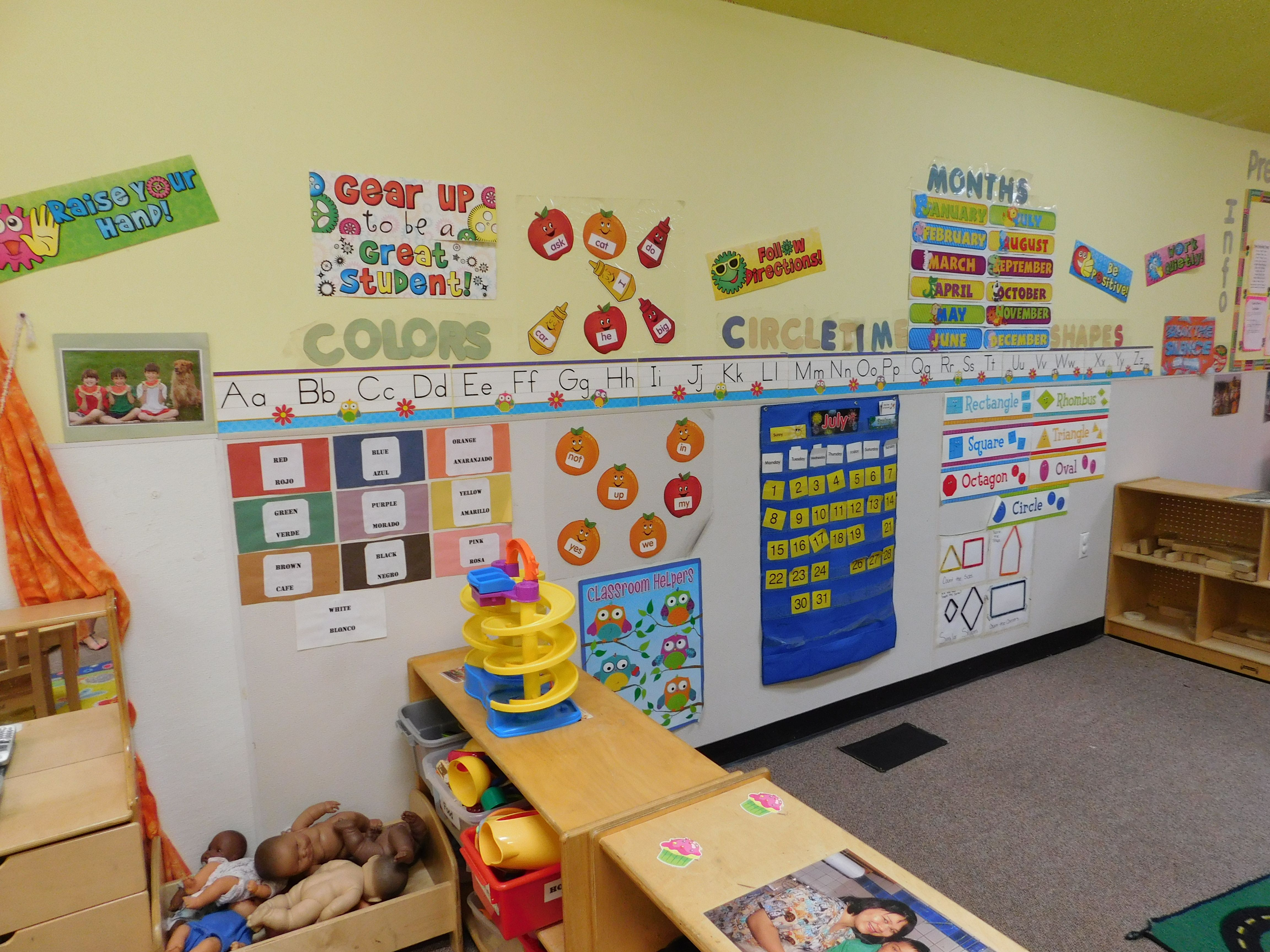 Preschool Classroom This Is Where We Do Circle Time We