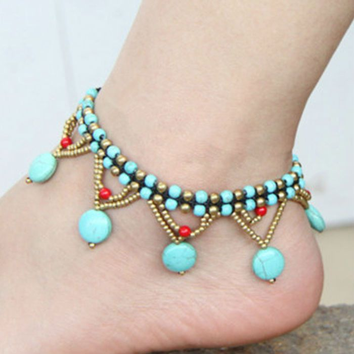item fashion products bead jewelry turquoise w photo blue necklace inch genuine wholesale beads with