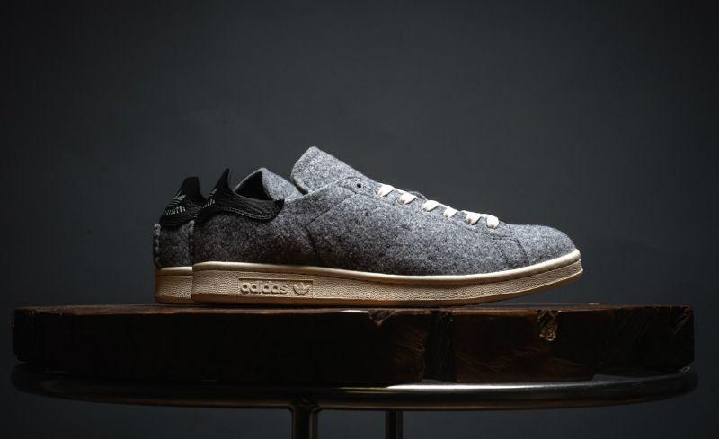 a586fd6c16a11 adidas Originals Drops Stan Smith PC Wool Grey