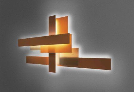 Foscarini Fields Wall Mounted Lights Paredes Claras Lampadas De Parede Iluminacao De Arandela