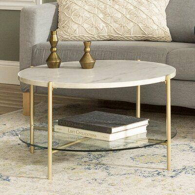 Wrought Studio Carrillo Coffee Table with Storage | Wayfair