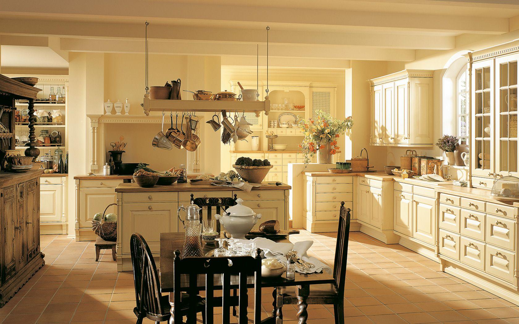 Cocina clásica con tirador: PC colores | siematic.es | Kitchens ... | {Moderne landhausküche siematic 12}