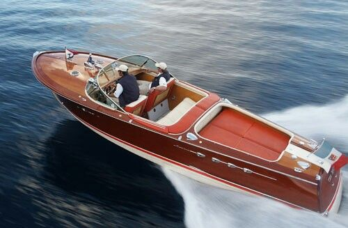 In Venice On Water Wooden Speed Boats Riva Boat Boat