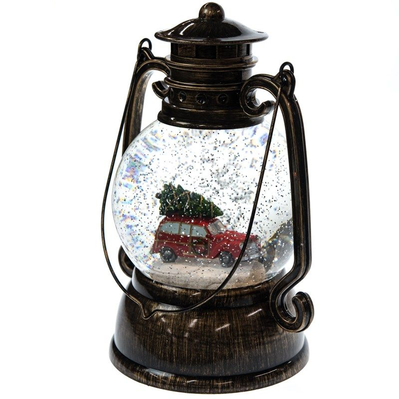 Boston Christmas Tree Delivery: Tree Delivery Lantern Snow Globe