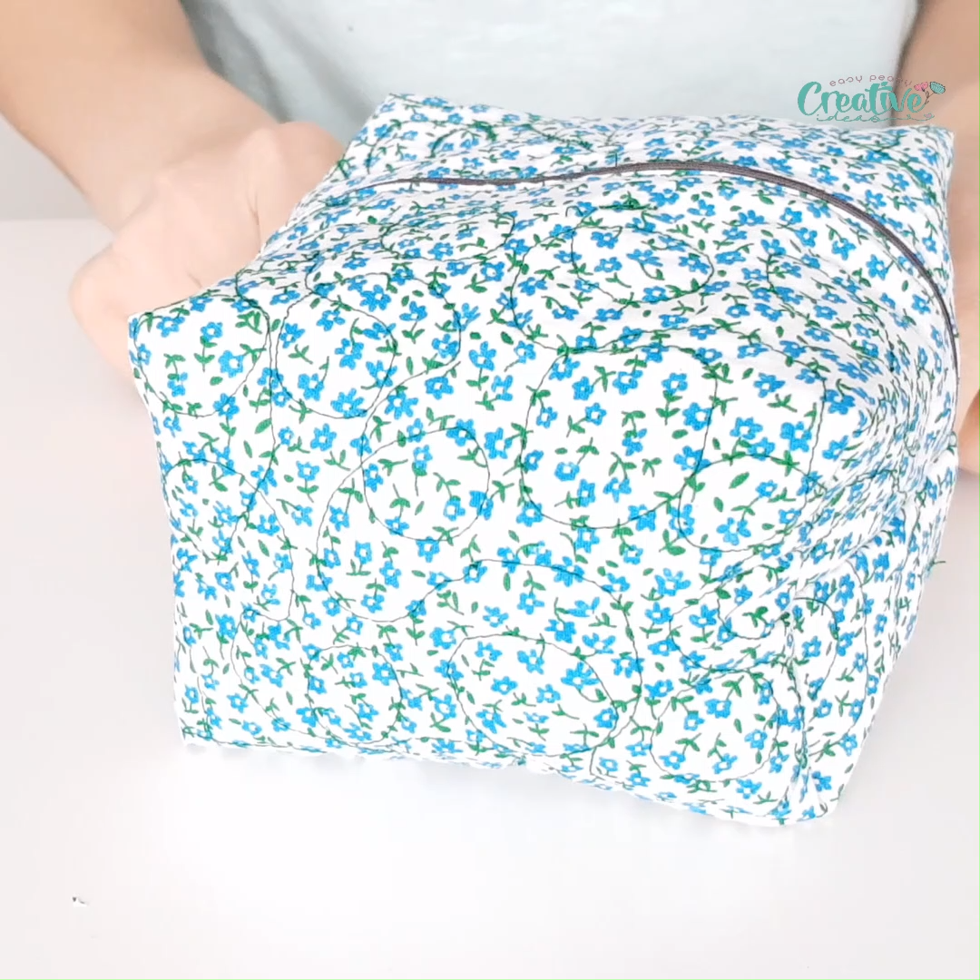 Photo of QUILTED ZIPPER POUCH SEWING TUTORIAL