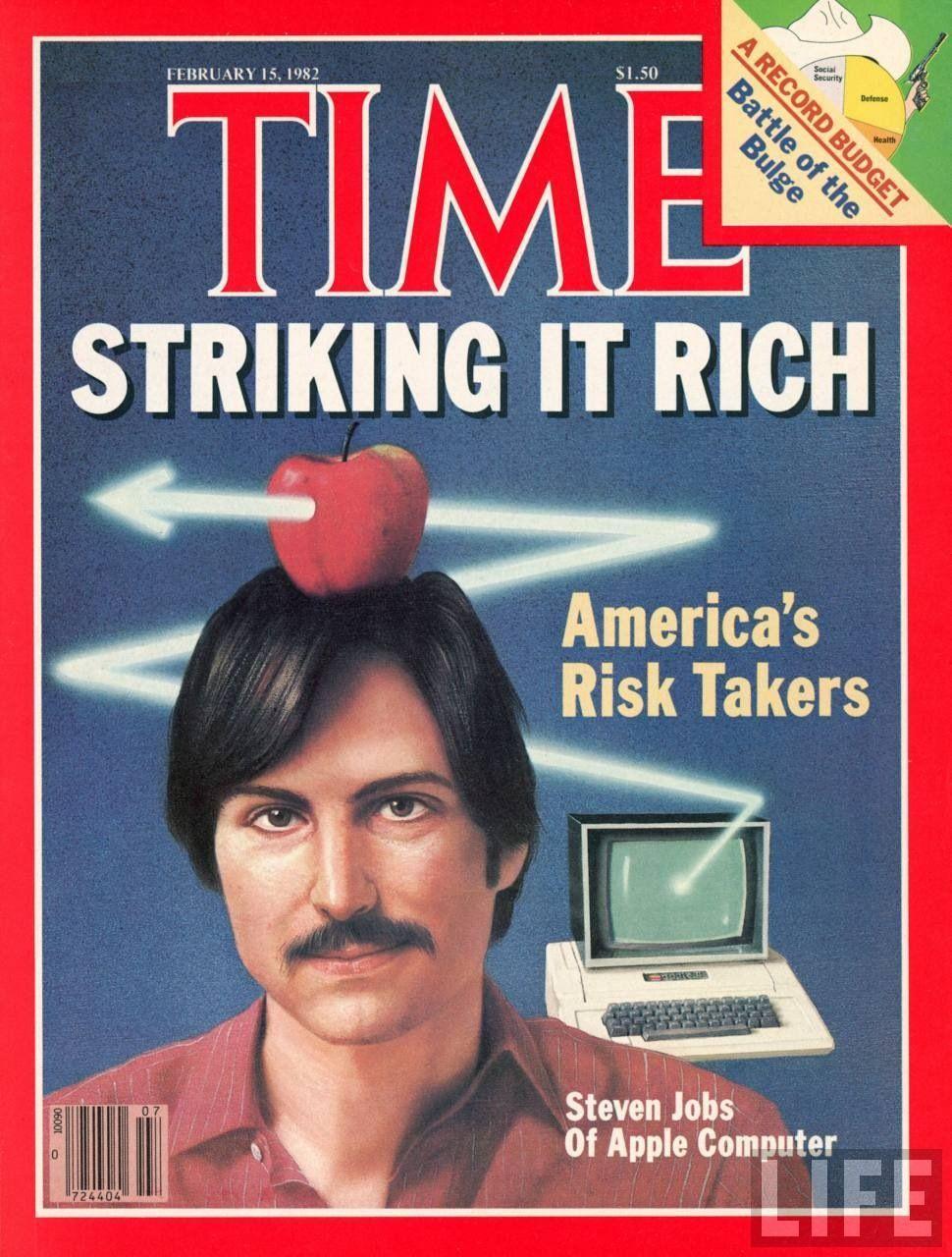 Steve Jobs - Portada de Time - 15 Febrero 1.982 | Vintage Magazine ...