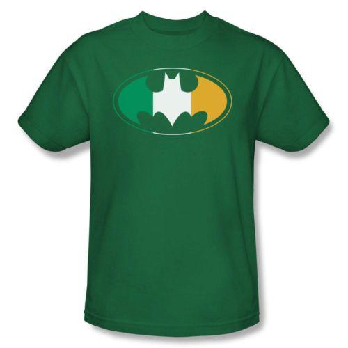 9390230c3 Batman's Irish? Batman Irish Flag Batman Symbol Adult T Shirt | eBay ...