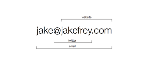 really smart business card creative design email twitter
