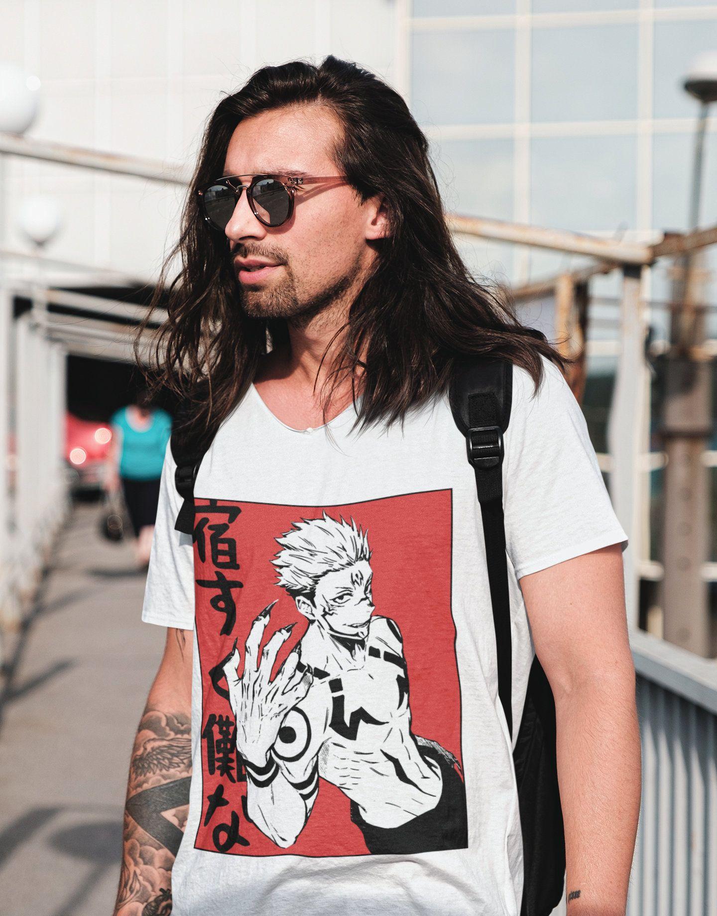 Jujutsu Kaisen T Shirt Sukuna T Shirt Gojo T Shirt Satoru Gojo T Shirt Yuji Itadori T Shirt Fushiguro T Shirt In 2021 Kawaii Hoodie Anime Hoodie Trending Outfits