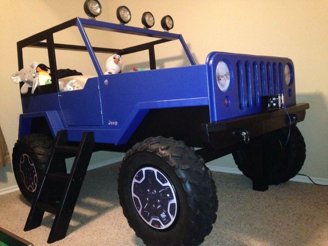 Check out this bed one of my customers made from the Jeep