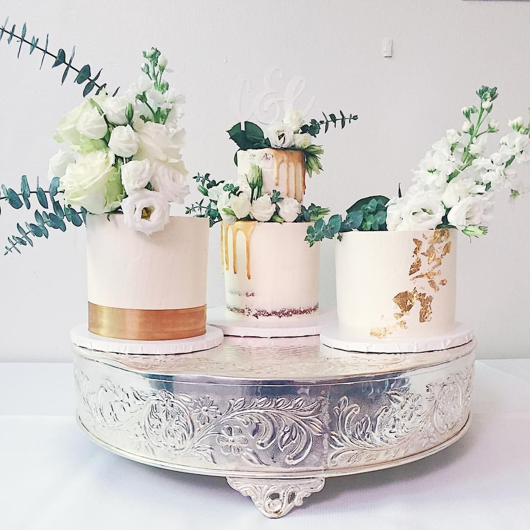 Cake Happens Rustic Wedding Cake Trio: 35 Likes, 5 Comments