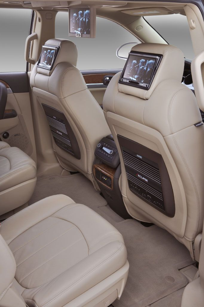 Buick Enclave Uptown Interior Yes I Need 3 Tvs Cars Pinterest Buick Enclave Interiors