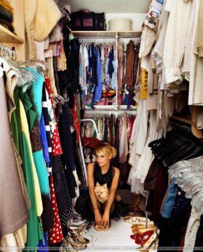 Nicole Ritchie closet