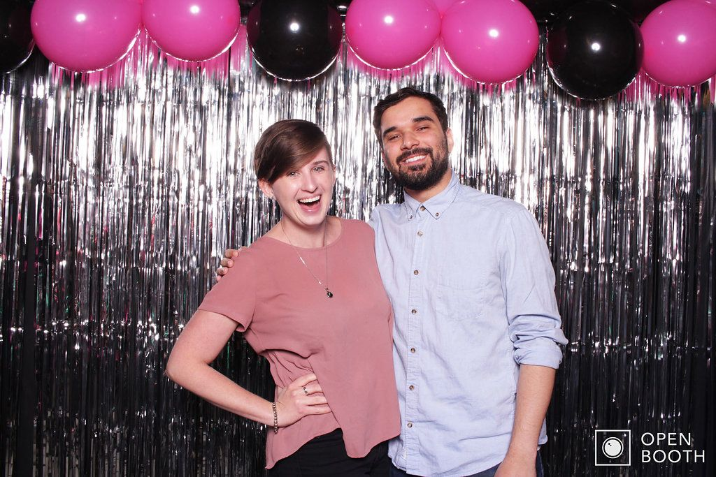 Grubstreet turns 20! Make your party memorable with an open-air photobooth #openboothbos #photobooth #boston #grubstreet #party