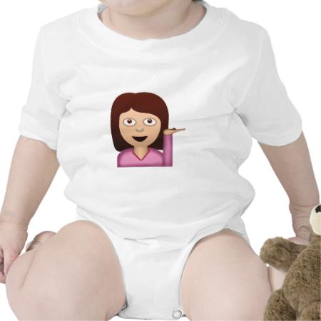 Information Desk Person Emoji Baby Creeper