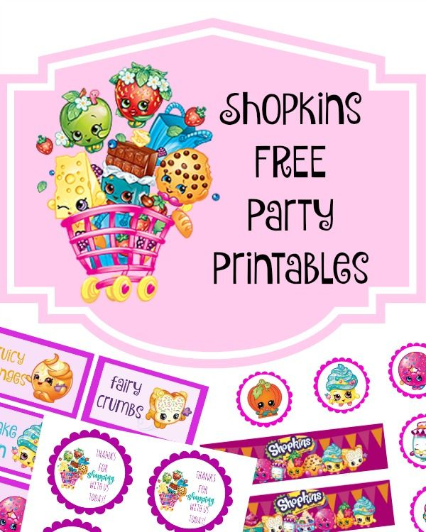 We Have Decided Upon A Birthday Party Theme For Little Miss This Year Went Back And Forth But Finally Settled On Shopkins