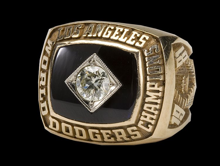 Los Angeles Dodgers 1981 World Series Champions Ring