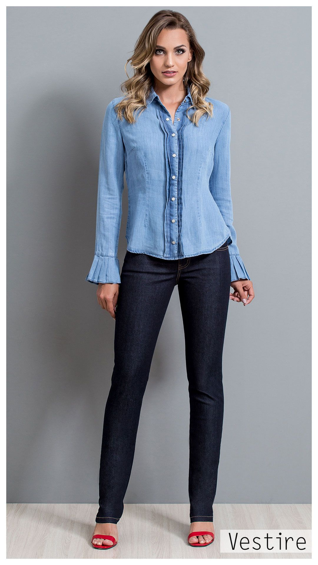 b4ce1c713f Look Book  Inverno 18. Tendencia. Vestire Jeans
