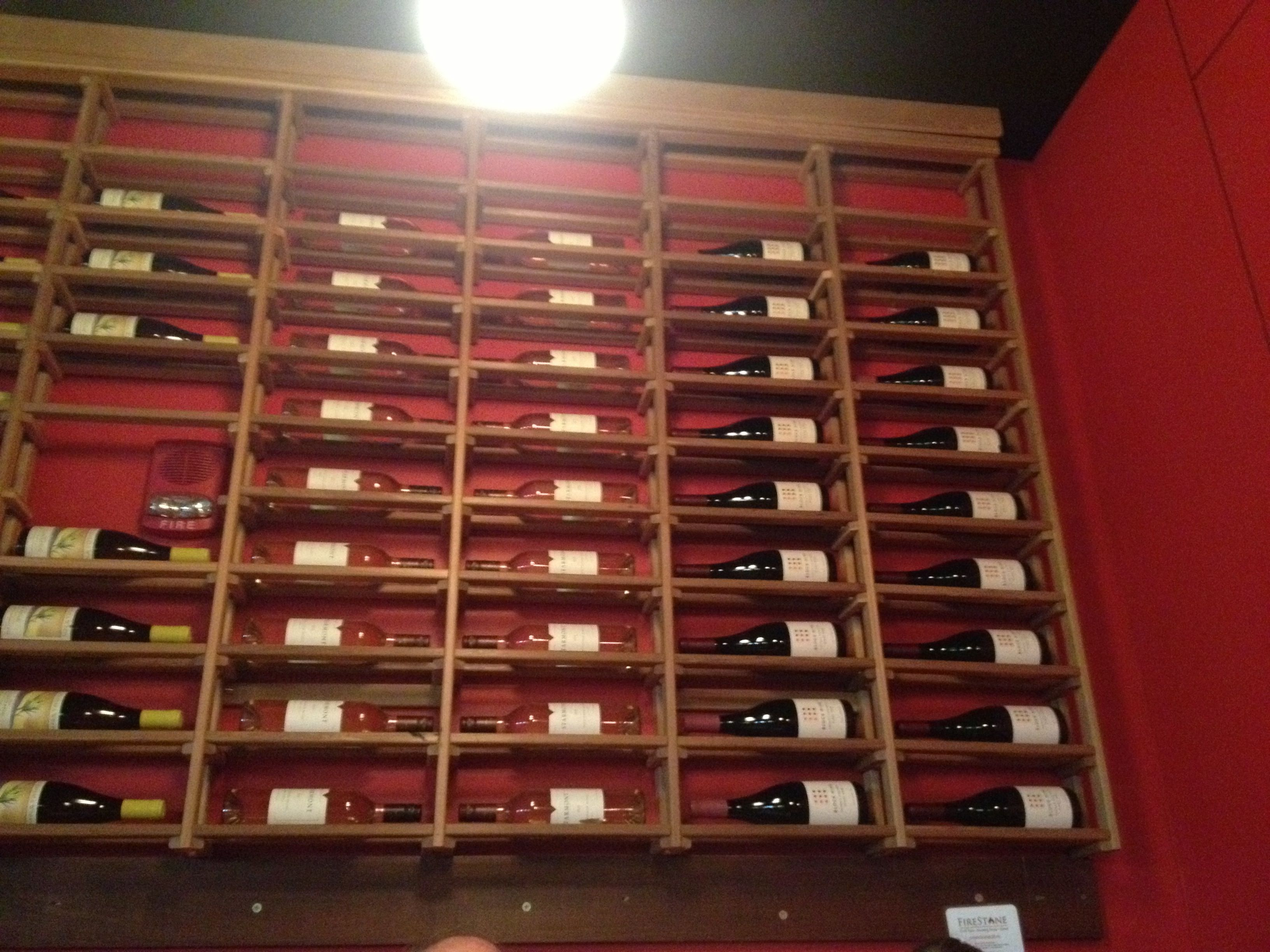 Full Wall Wine Rack
