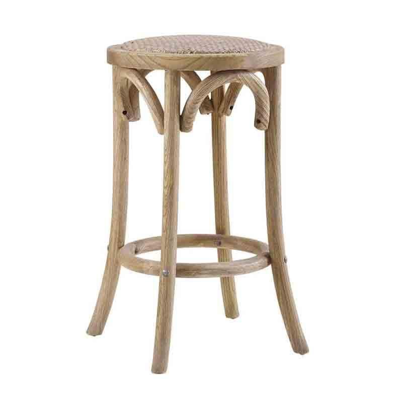 Brilliant Linon Cs153Ratt01U Rae Rattan Seat Backless Counter Stool Unemploymentrelief Wooden Chair Designs For Living Room Unemploymentrelieforg