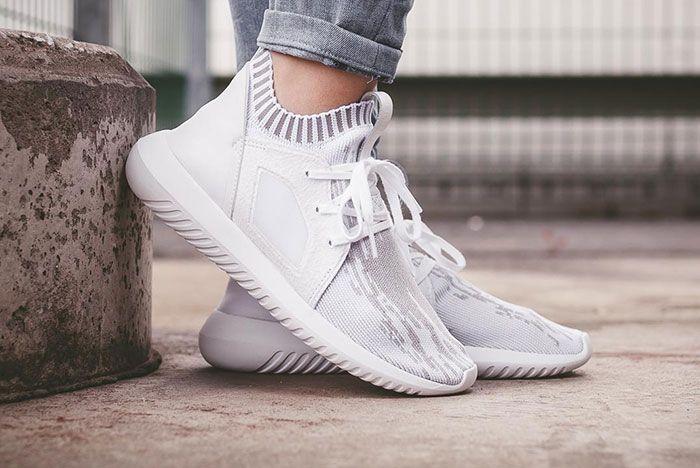 los angeles fd04a bf68f adidas Tubular Defiant Primeknit (Clear Granite) – Sneaker Freaker