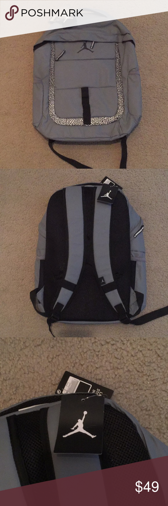 6401cd4e983e68 NEW Jordan Brand Backpack Brand new Jordan Brand Backpack with the tags  still attached! Jordan Bags Backpacks