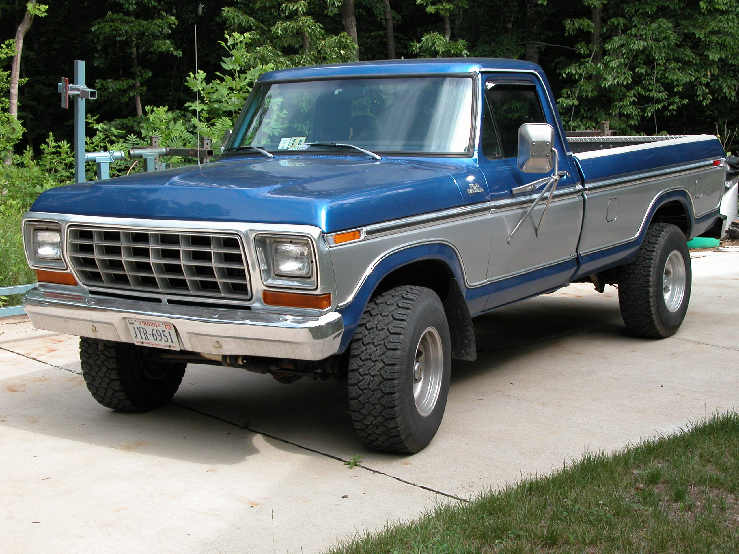 1979 ford f150 4x4 460 love this