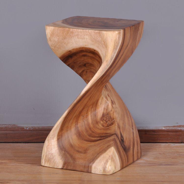 la nueva entera tailandia artesana de talla de madera hecha a mano abstracta slido zapatos