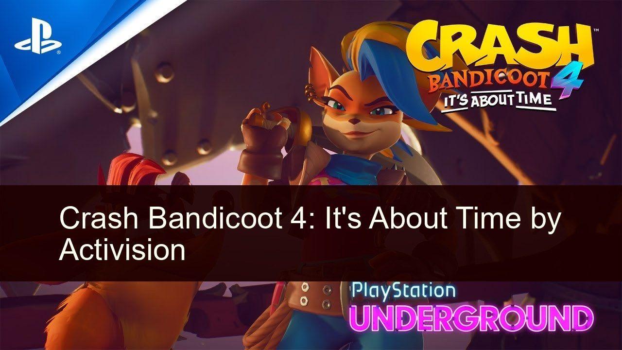 Crash Bandicoot 4 It S About Time Game Crash Bandicoot Crash Bandicoot 4 Bandicoot